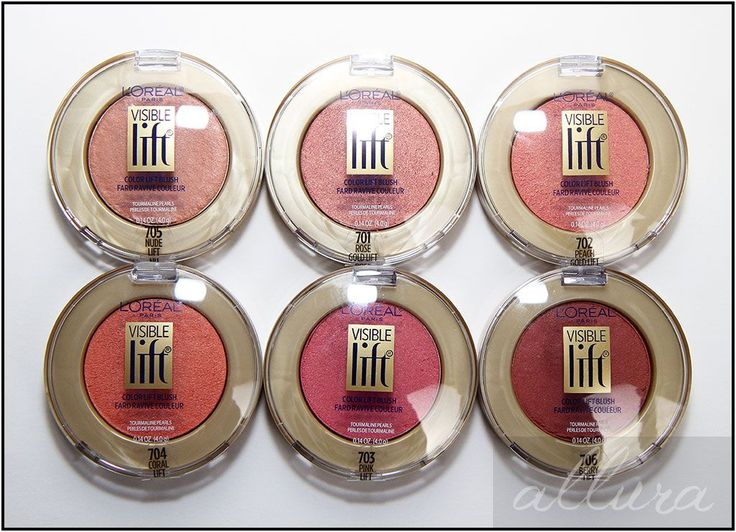 L'Oreal Visible Lift Color Lift Blushes ... cream to powder finish, luminous / translucent rather than powdery texture once applied.  Try Nude Lift ( .. or rose gold lift or peach gold lift if you want something less neutral, more pop color)