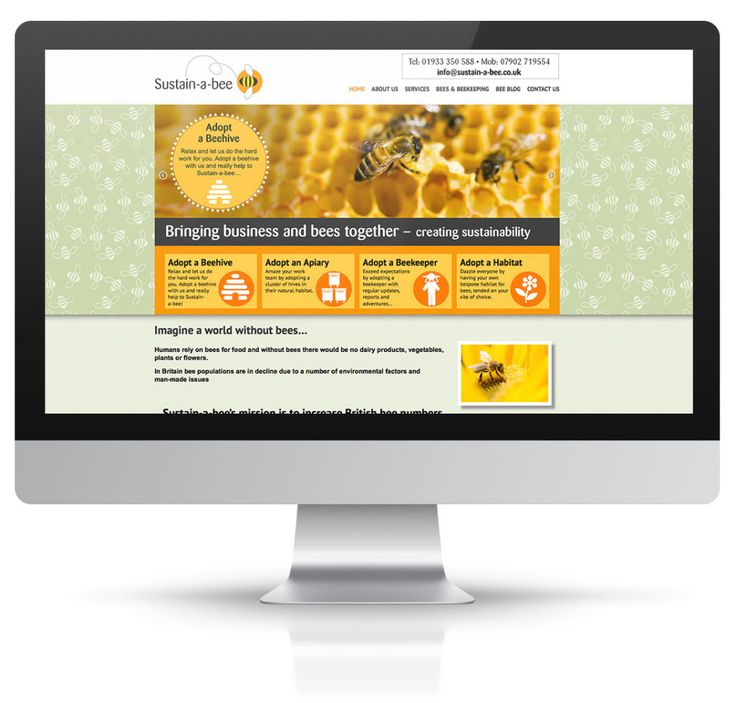 Web site and logo design for start-up business to promote bee growth in the UK. Wordpress site created for client to content manage, ongoing maintenance and support package provided.
