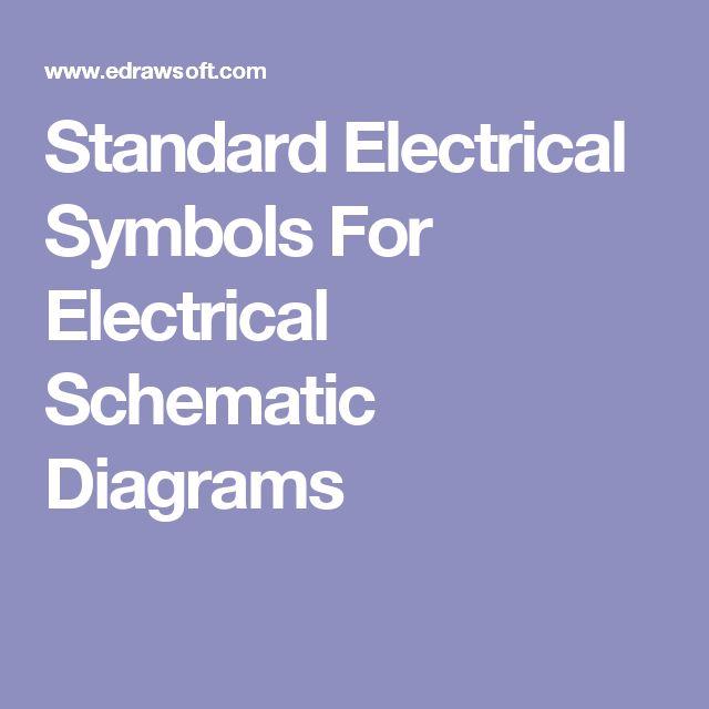 Best 25 Electrical symbols ideas on Pinterest Electronic