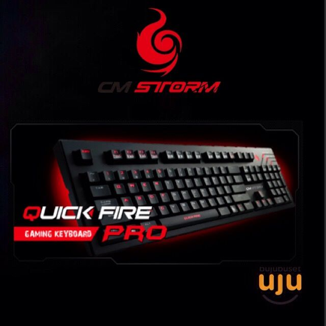 CM Storm - Quickfire Pro (Black/Red) IDR 965.000