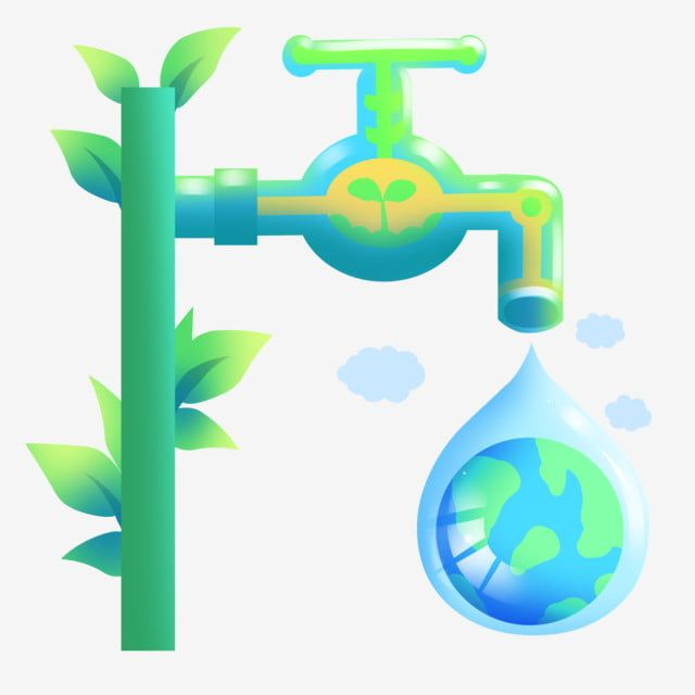 Environmental Protection And Water Conservation Water Saving Illustration Environmental Protection Illustration Cartoon Illustration Png Transparent Clipart Cartoon Illustration Water Illustration Geometric Pattern Background