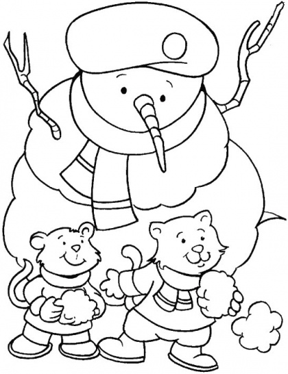 9 best Winter Coloring Pages images on Pinterest Coloring for kids - best of coloring pages fall and winter