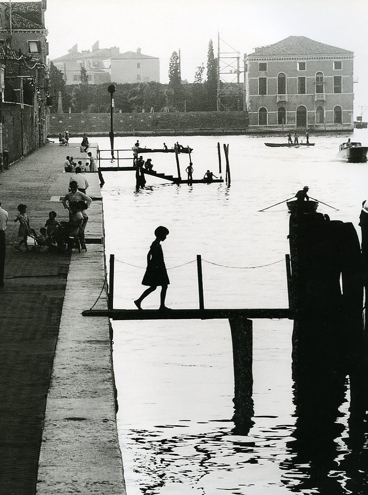 Willy Ronis - Venise, Fondamenta Nueva, 1959