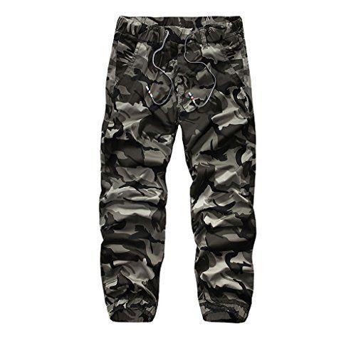 pantalon camouflage homme blanc