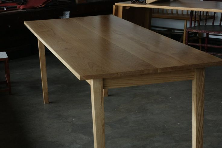American oak dining table | Hercynia silva – Bespoke furniture