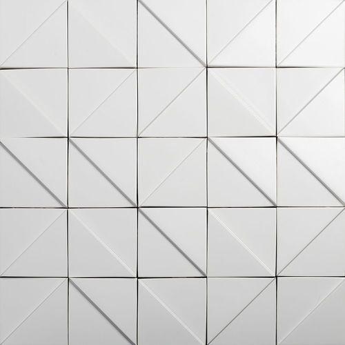 Carrelage mural / en céramique / motif géométrique / à relief TOKYO Heliot & Co.
