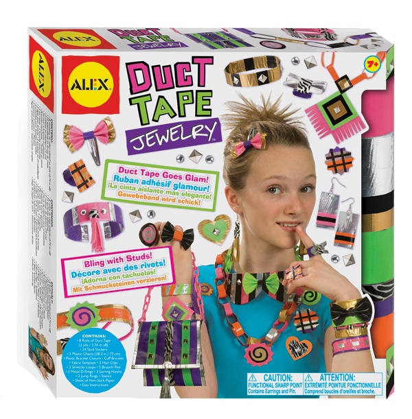 Check out ALEX's duct tape craft kits this holiday season! http://learningexpressblog.typepad.com/