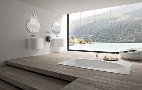 niiiice.: Bathroom Design, Bathroom Interior, Luxury Bathroom, Modern Bathroom, The View, Dreams Bathroom, Interiors Design, Bathroomdesign, Bathroom Ideas