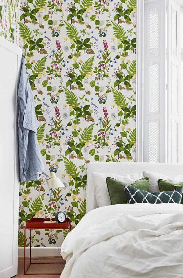 TROLLSLÄNDA Scandinavien Design   Wallpaper   I butik: 15 juni 2016   borastapeter.se   via trendspanarna