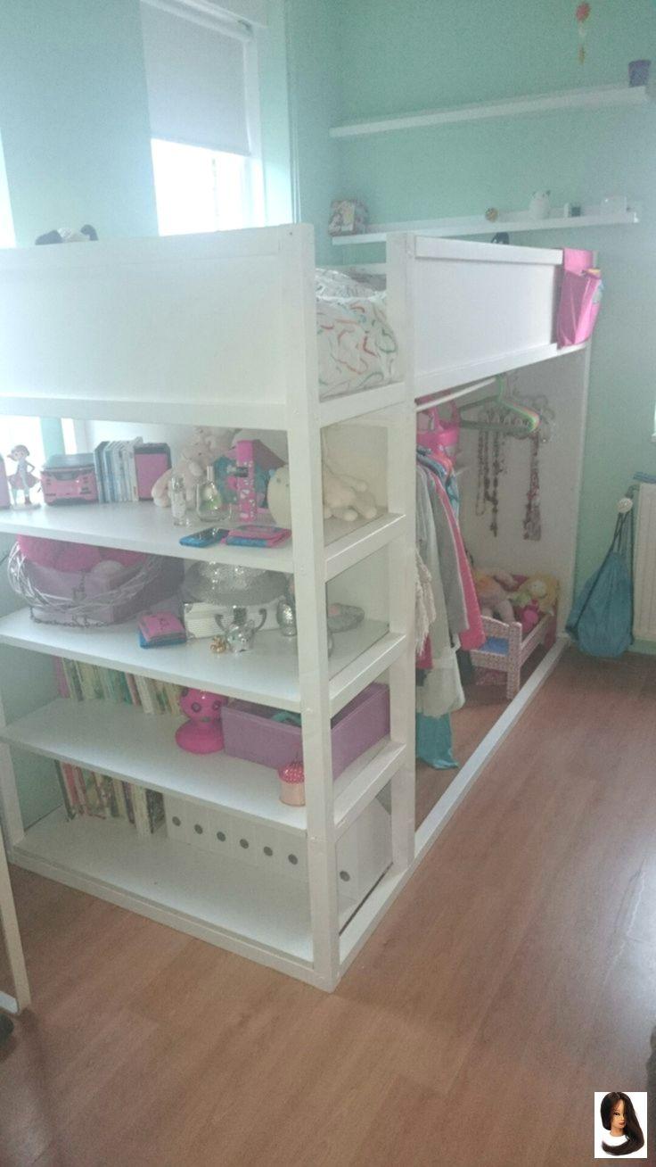 Kura Reversible Bed By Ikea With Shelves Kids Room Ideas Winte Shelve Girl