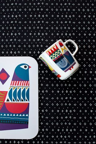 The new Kukkuluuruu print designed by Sanna Annukka for Marimekko has arrived.