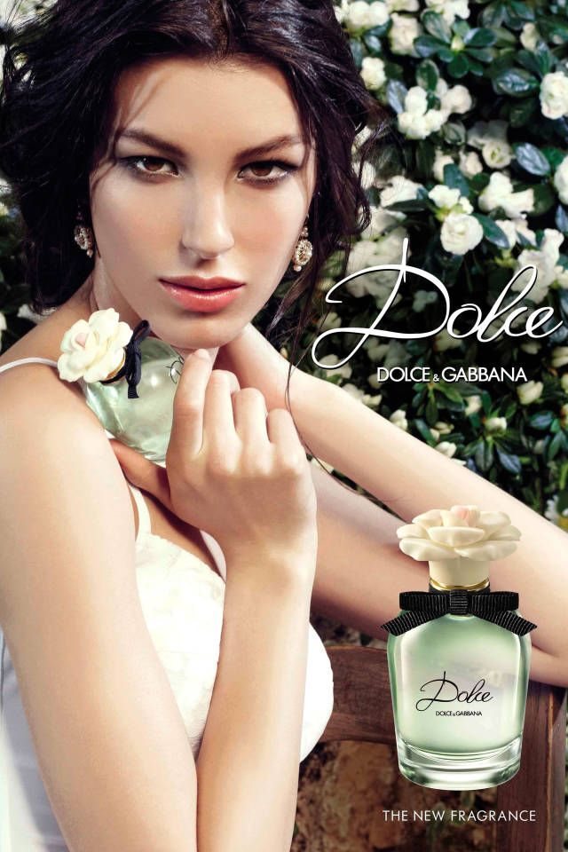 Click through to see the behind-the-scenes video of Dolce  Gabbana's new fragrance, Dolce.