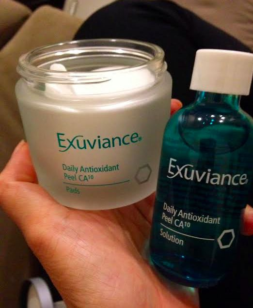 best exuviance product
