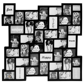 browse our huge collection of multi aperture photo frames find the ideal funky collage picture frame for your images today
