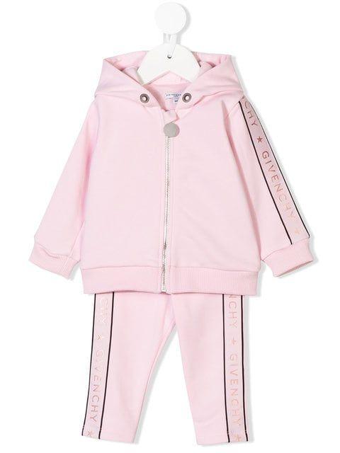 615c81db1 Shop Givenchy Kids logo print tracksuit | Birthday | Kids outfits ...