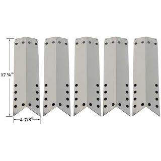 Grillpartszone- Grill Parts Store Canada - Get BBQ Parts, Grill Parts Canada: Duro Heat Shield | Replacement 5 Pack Stainless St...