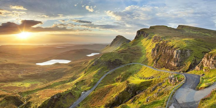 The Highlands of Scotland.