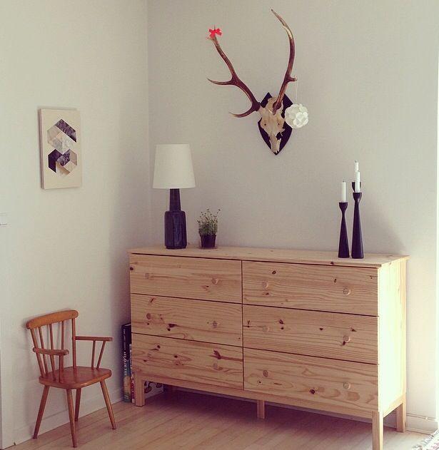 Ikea kommode med gevir