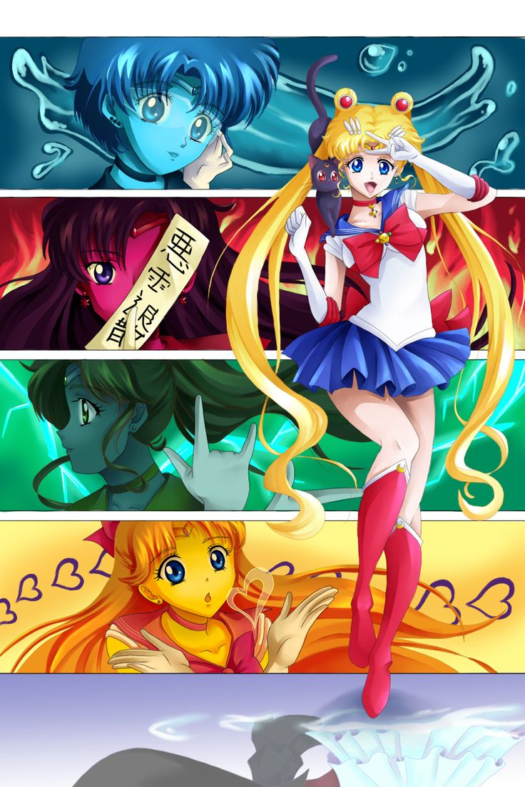 127 Best Images About Sailor Moon Crystal On Pinterest