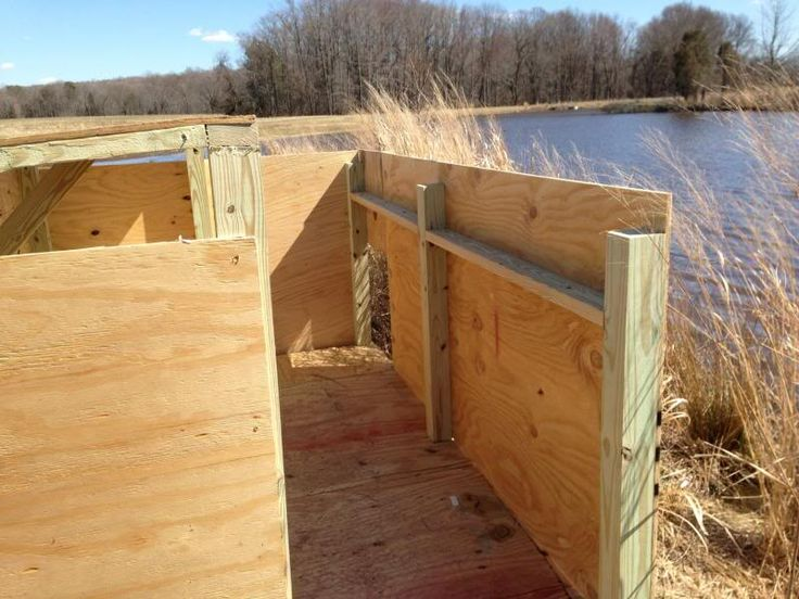 Best 25 Duck Blind Plans Ideas On Pinterest Deer Blind