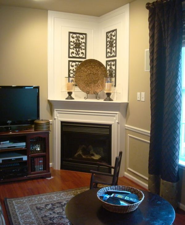 19+ Best Corner Fireplace Ideas For Your Home Part 94