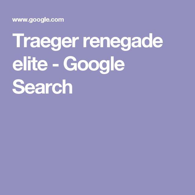 Traeger renegade elite - Google Search