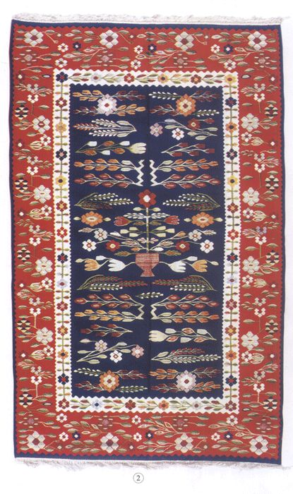 Romanian traditional carpet