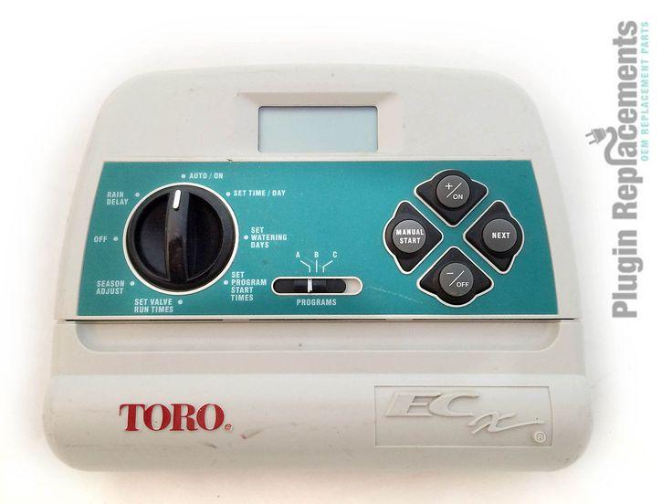 Toro Model ECX 8 Zone Sprinkler/Irrigation Timer Panel