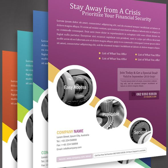 44 best images about Flyer Designs – Sample Business Brochure