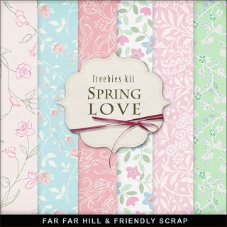Sunday's Guest Freebies -Far Far Hill ***Join 1,360 people and follow our Free Digital Scrapbook Board. New Freebies every day.