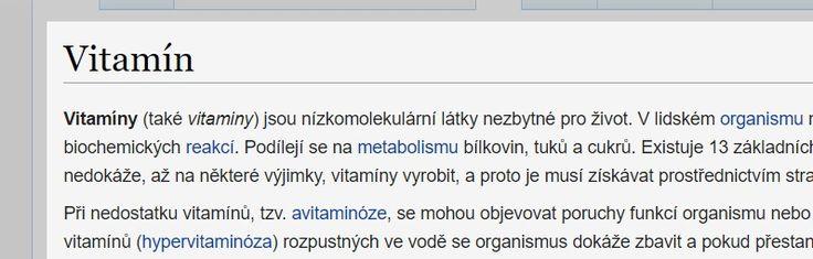 Vitamín – Wikipedie