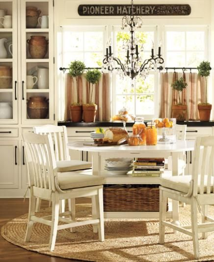 pottery barn shayne drop leaf kitchen table reviews love curtains window