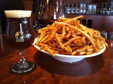 """The """"Crack Fries"""" from HopCat in Grand Rapids, Michigan"""
