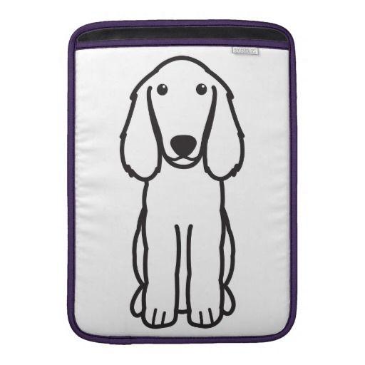 Boykin Spaniel Dog Cartoon MacBook Air Sleeves