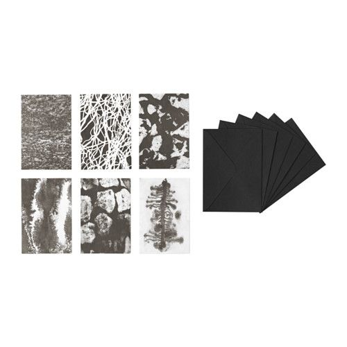 IKEA - SVÄRTAN, Art card with envelope, These art cards make a perfect gift…