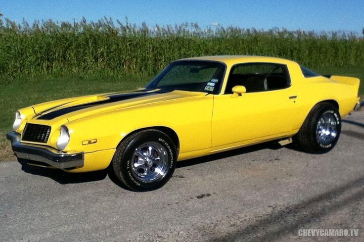 1977 Camaro - Yellow