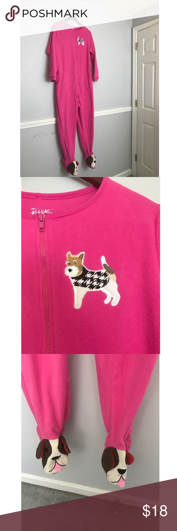 Nick and Nora Onsie Comes from a smoke-free home but we DO have a dog. I do not accept trades. If you have any questions or concerns please let me know! Nick & Nora Intimates & Sleepwear Pajamas