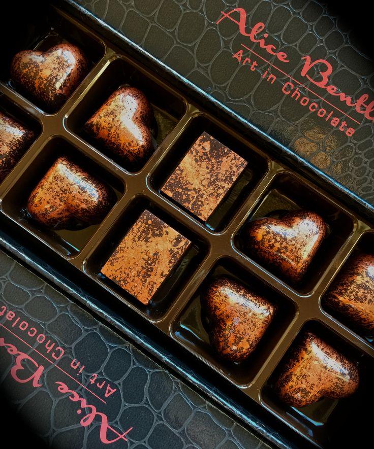 The Bronze Box www.alicebentleychocolates.com