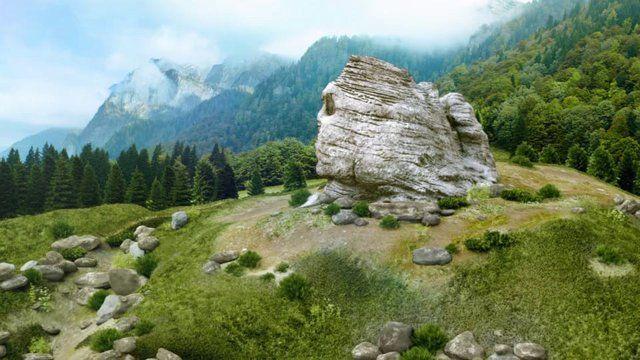 Bucegi Ad - virtual landscapes