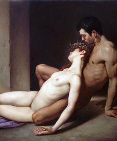 Roberto Ferri - Il Sepolcro degli Amanti