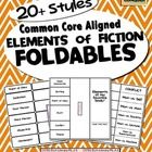 ELEMENTS of FICTION Foldables aligned with Common Core. You'll find over 20 different styles included in this product. CCSS.ELA-Literacy.RL.2.5 CCSS.ELA-Literacy.RL.3.6 CCSS.ELA-Literacy.RL.3.7 CCSS.ELA-Literacy.RL.4.2 CCSS.ELA-Literacy.RL.4.5 CCSS.ELA-Literacy.RL.5.2 CCSS.ELA-Literacy.RL.5.6 CCSS.ELA-Literacy.RL.6.2  Included in the Elements of...