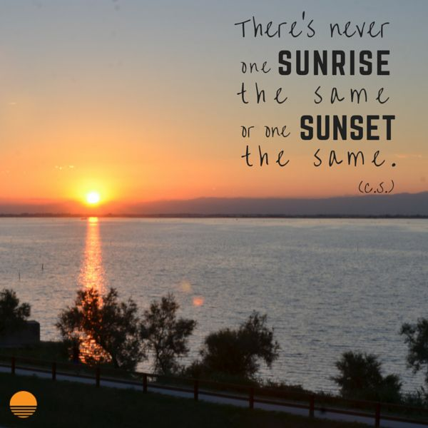 There's never one #sunrise the same or one #sunset the same! #quote #soleis #realestate #forsale #lignano #italy