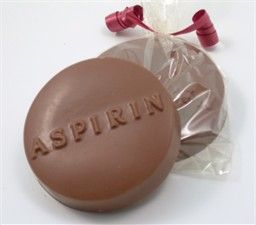 Medical School Graduation Party Favors - Chocolate Aspirin