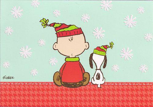 Charlie Brown &  Snoopy at Christmas