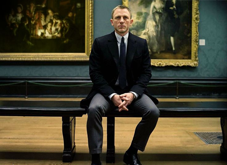 "Daniel Craig as James Bond in ""Skyfall"""