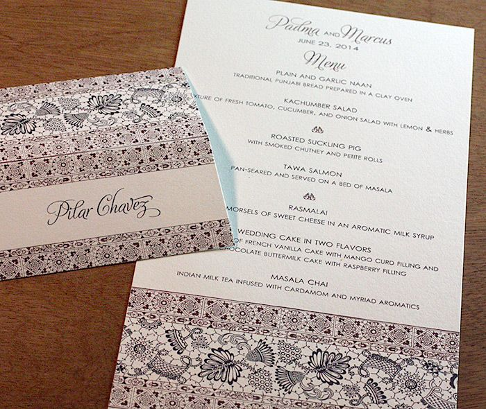 45 best invitation design isabella images on pinterest wedding bilingual letterpress wedding invitation design gallery padma by invitations by ajalon stopboris Images