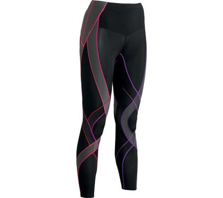 Women's CW-X Endurance Generator Tights - Black/Purple Gradient Athletic  Pants - My Running Deals