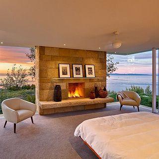 Atlanta Outdoor Bedroom Fireplace by Stonehenge Hardscape Atlanta, via Flickr