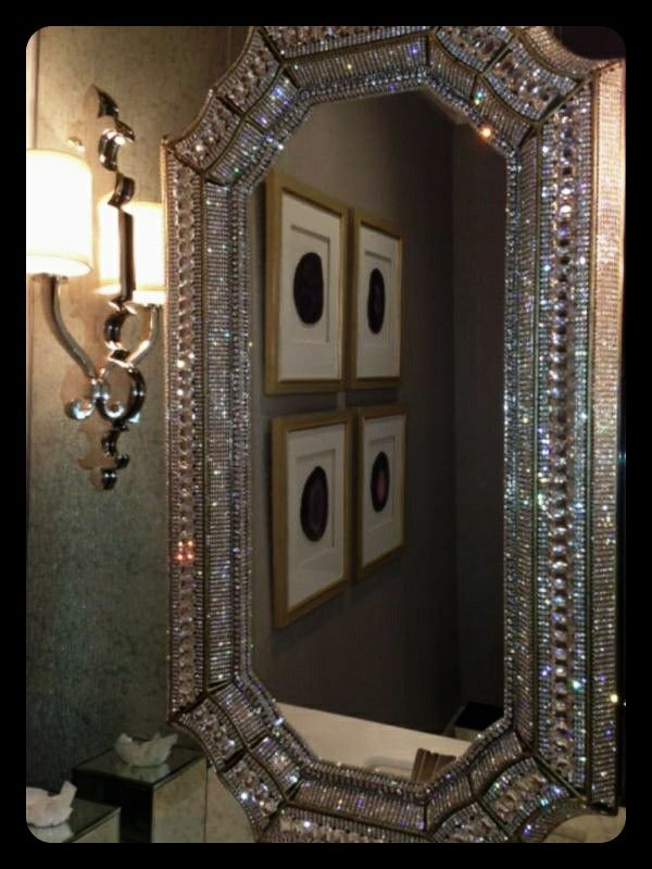 Swarovski mirror so beautiful | Stuff I like | Pinterest ...
