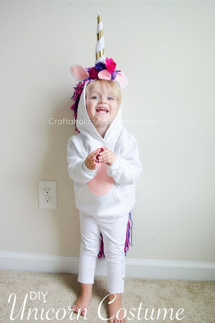 Diy Unicorn Costume Tutorial  All Time Favorite Crafts -7583